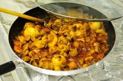 feg curryindier royaltyfri foto