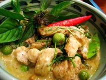 Feg grön curry Royaltyfri Fotografi