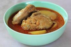 Feg gul curry Arkivfoton