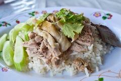 feg hainanese rice Fotografering för Bildbyråer