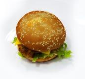 Feg hamburgare/smörgås Royaltyfri Fotografi