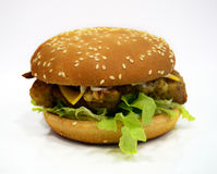 Feg hamburgare/smörgås Royaltyfria Foton
