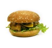 Feg hamburgare/smörgås Royaltyfria Bilder