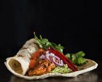 feg kebab Fotografering för Bildbyråer