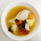 feg kinesisk matrestaurangsoup Arkivfoto