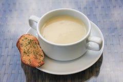 Feg kräm- soppa Royaltyfri Fotografi