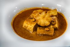 Feg massaman curry Royaltyfri Bild