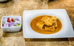 Feg massaman curry Royaltyfria Bilder