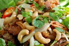 feg muttersallad för cashew Royaltyfria Foton