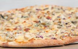 Feg pizza Arkivbilder