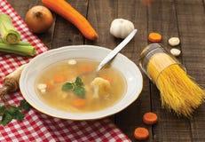 Feg soppa Arkivbild