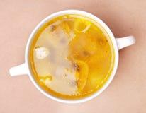 feg soup Royaltyfri Foto