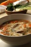 feg soup Royaltyfria Bilder
