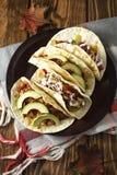 feg tacos Royaltyfri Bild