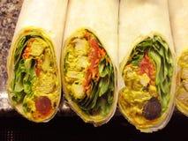fega curryomslag Arkivbilder