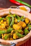 Fega Jalfrezi - indier eller pakistansk curry Arkivfoto