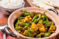 Fega Jalfrezi - indier eller pakistansk curry Royaltyfria Foton