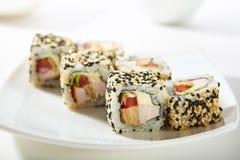 Fega Maki Sushi Fotografering för Bildbyråer