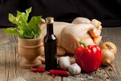 fega rå grönsaker Fotografering för Bildbyråer