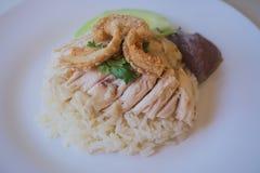 Fega ris med grisköttlocket Arkivfoto