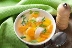 fega soupgrönsaker Royaltyfri Bild