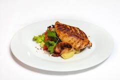 fega steakgrönsaker Royaltyfri Fotografi