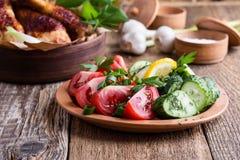 Fega trumpinnar och nya grönsaker, favorit- mål royaltyfri bild