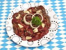 Fegato di carne di maiale fotografie stock