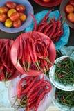 Fegetable al mercato Fotografia Stock Libera da Diritti