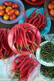 Fegetable au marché Photo libre de droits