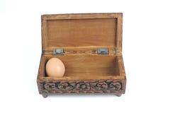 Fegt ägg Arkivbilder