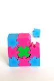 Fehlendes Stück des Puzzlespiels Lizenzfreies Stockbild
