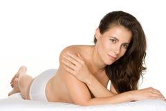 Fehlerlose Haut lizenzfreie stockbilder