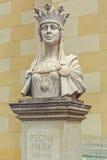 Fehlschlag der Königin Marie von Rumänien stockbilder