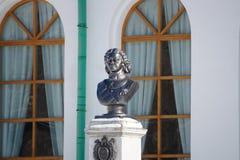 Fehlschlag des Zars Peter der Große im Stadtmuseum von Jekaterinburg stockbilder