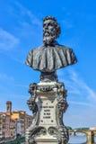 Fehlschlag Florenz-Cellini Stockfoto