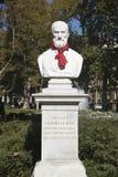 Fehlschlag von Julie Klovic in Zrinjevac-Park in der Stadt von Zagreb, Kroatien Stockbild