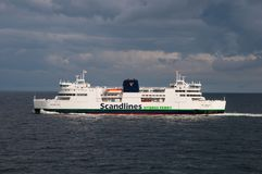 Scandlines Ferry Deutschland Royalty Free Stock Image