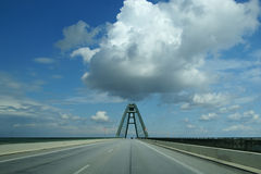 Fehmarn bridge Stock Images