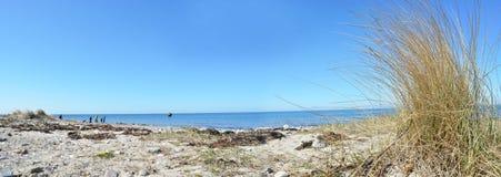 Fehmarn Island Panorama ocean. Beach Royalty Free Stock Photo