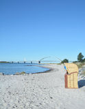 Fehmarnsund Bridge,Fehmarn,baltic Sea,Germany Royalty Free Stock Image
