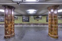 Fehrbelliner Platz Columns Stock Image