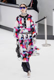 Fei Fei Sun walks the runway during the Chanel show Stock Image