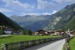 Feichten im Kaunertal, Tirol, Austria Stock Photos