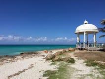Feier auf dem Strand, Kuba Lizenzfreies Stockbild