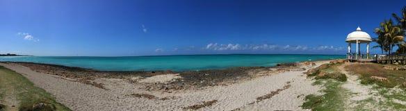 Feier auf dem Strand, Kuba Lizenzfreies Stockfoto