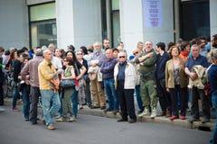 Feier der Befreiung gehalten in Mailand am 25. April 2014 Stockfoto
