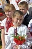 Feier der ersten Schule bell_9 Stockbild