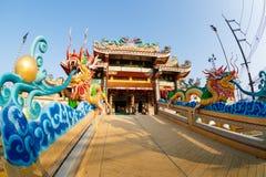 Feier des chinesischen neuen Jahres im Tempel Saphan Hin Stockfoto