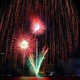 Feier des glücklichen neuen Jahres Stockbild